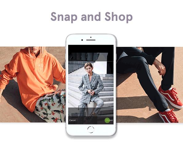 Zalora Snap and Shop