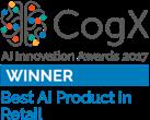 ViSenze CogX Best AI in Retail Award